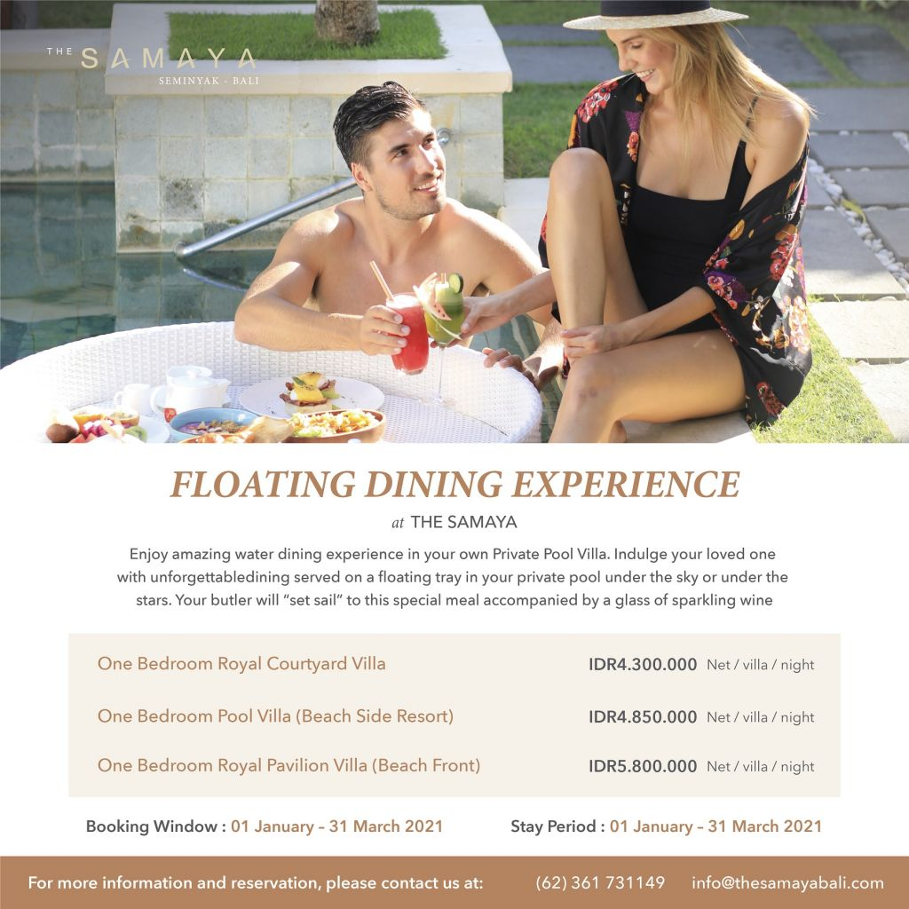 Floating Dinning Experience