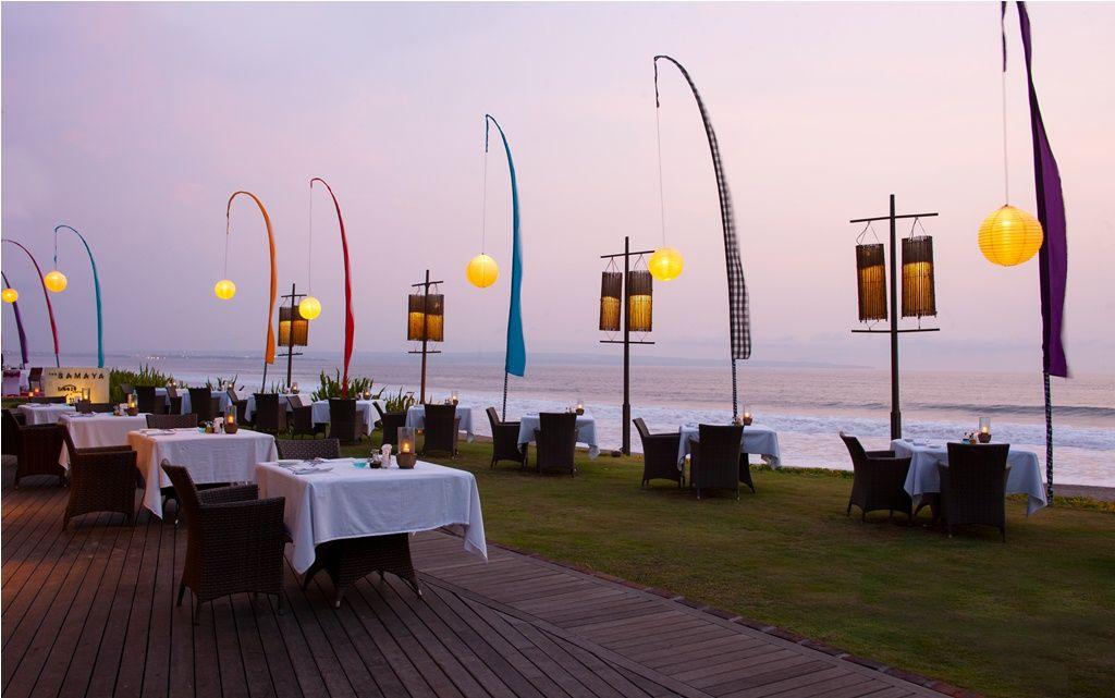 Best Dining And Sunset At Breeze Seminyak Restaurants The Samaya Bali